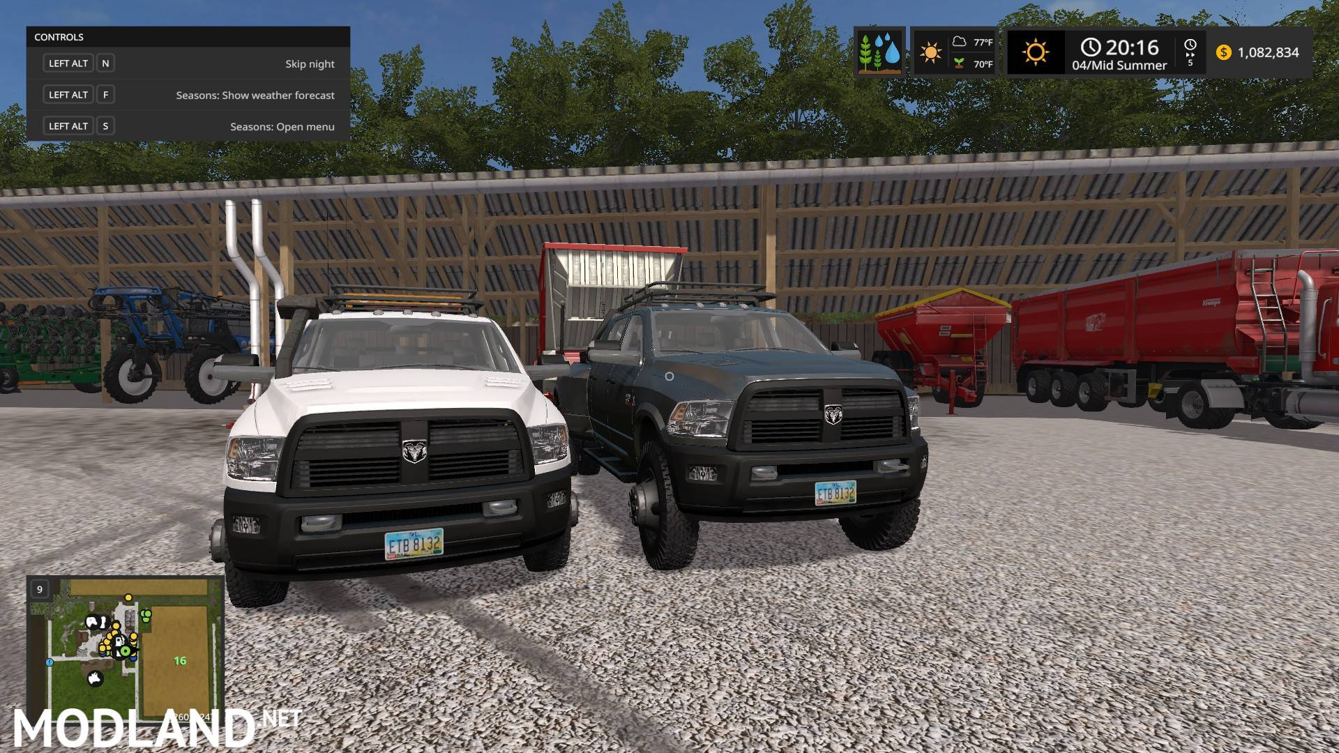 Lifted Ram 3500 >> Ram 3500 Megacab edit mod Farming Simulator 17