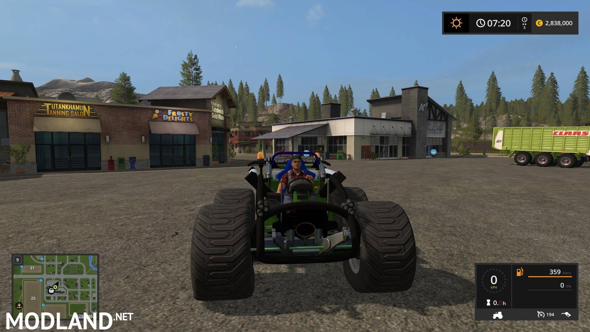 Amazone CrassHopper v 2 0 mod Farming Simulator 17