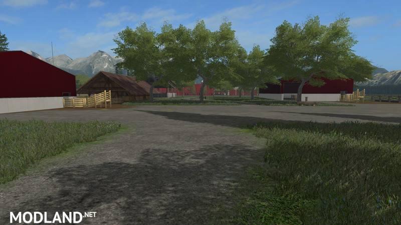 American Farm Map v 1.0 mod Farming Simulator 17 on