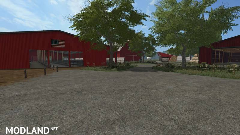 American Farm Map V 10 Mod Farming Simulator 17: Southeastern Usa Map Farming Simulator 2013 At Usa Maps