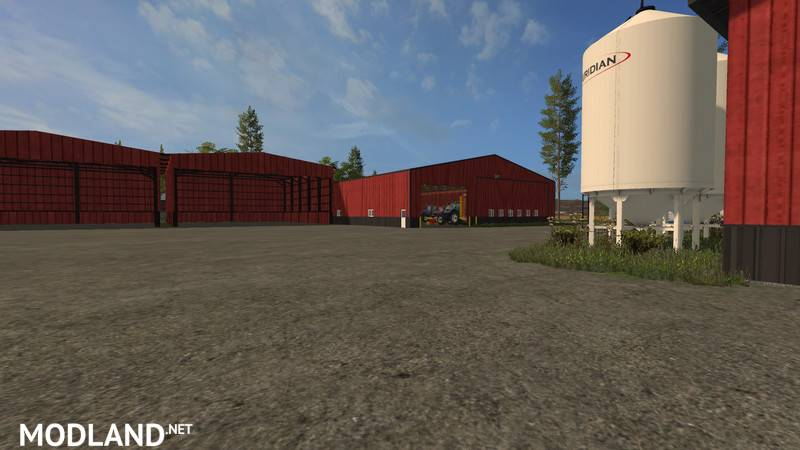 American Farm Map V Mod Farming Simulator - Fs 17 us map