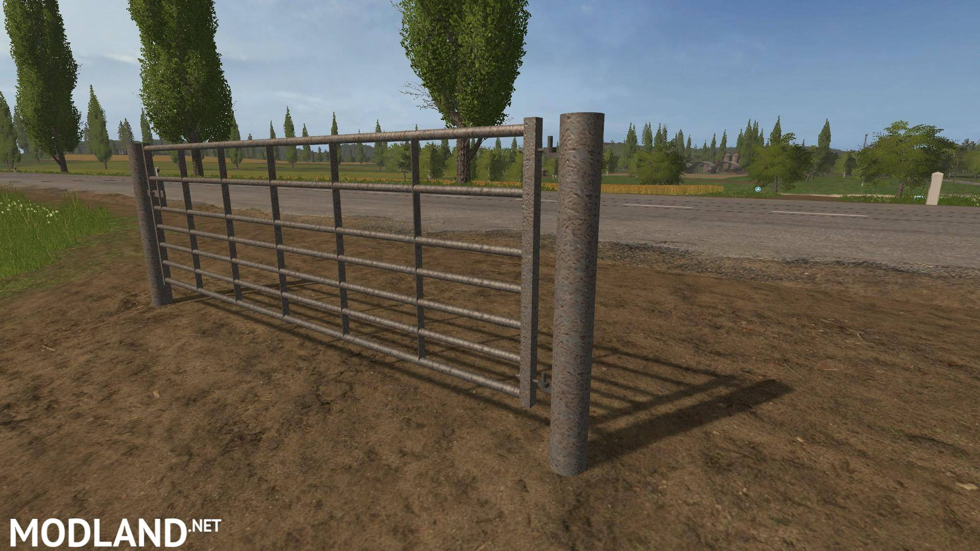 Animated Seven Bar Steel With Light Rust Gates V 1 0 Mod