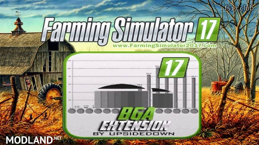 BGA Plant Extreme Extension mod Farming Simulator 17