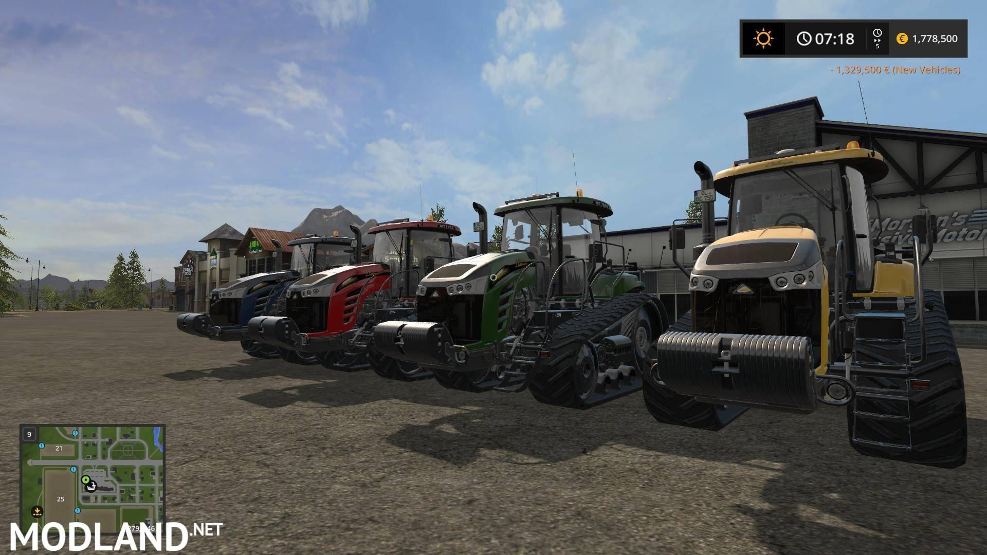 Tractor Challenger 377 : Bm challenger mt e bc v mod farming simulator
