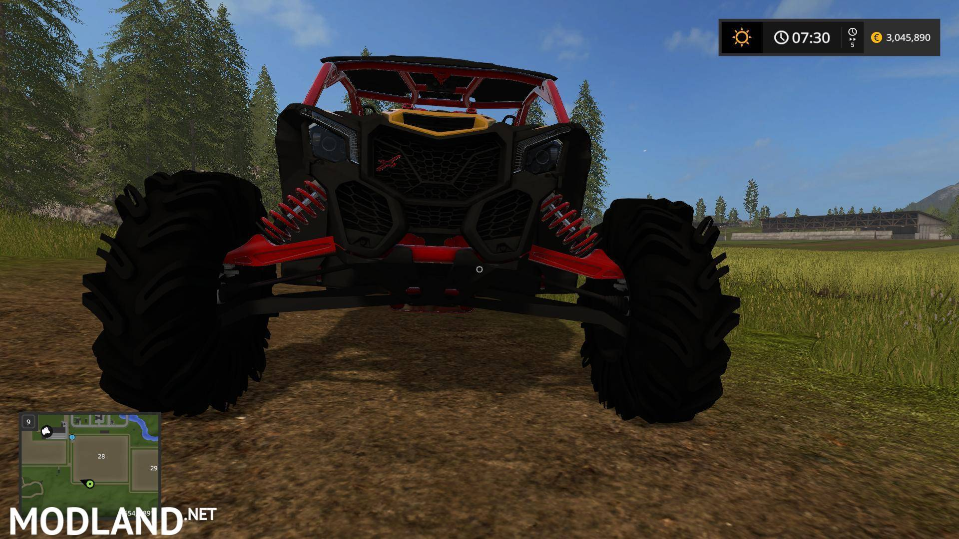 Big Valley Ford >> CANAM MAVRIC squad edition v 3.0 mod Farming Simulator 17