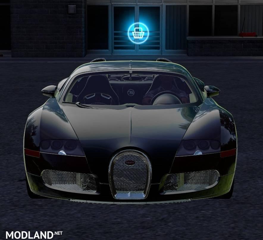 Bugatti Veyron: Bugatti Veyron Mod Farming Simulator 17
