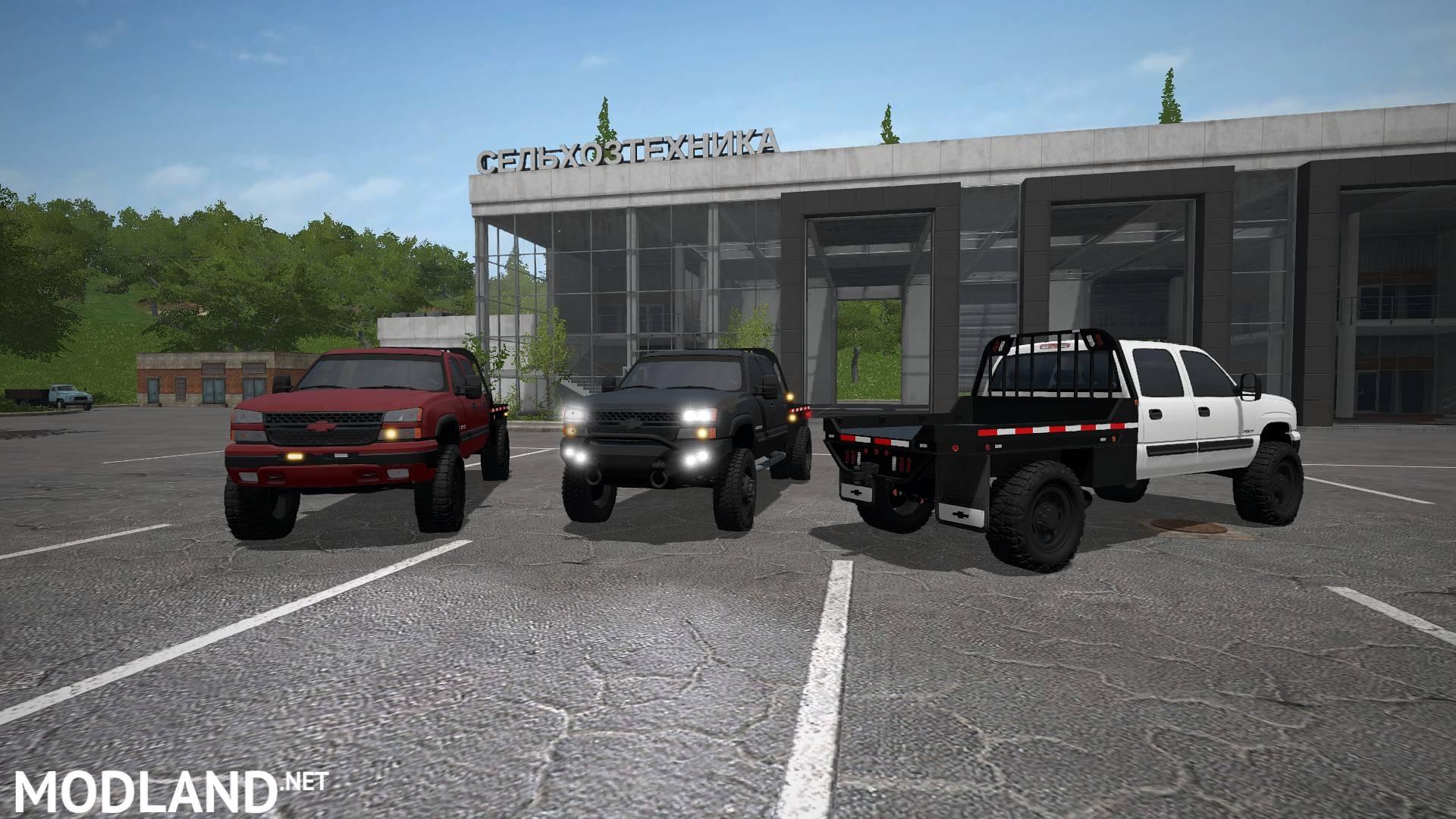 2006 Chevrolet Silverado 2500 V 1 0 Mod Farming Simulator 17