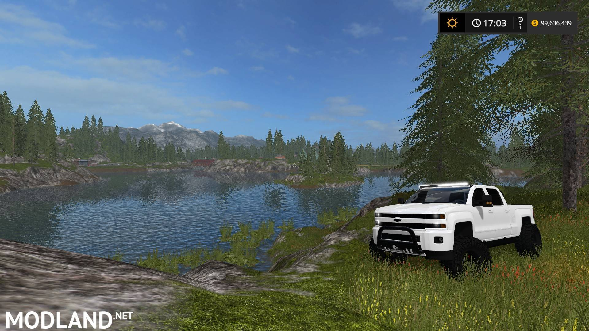 Chevy High Country Off-Road mod Farming Simulator 17