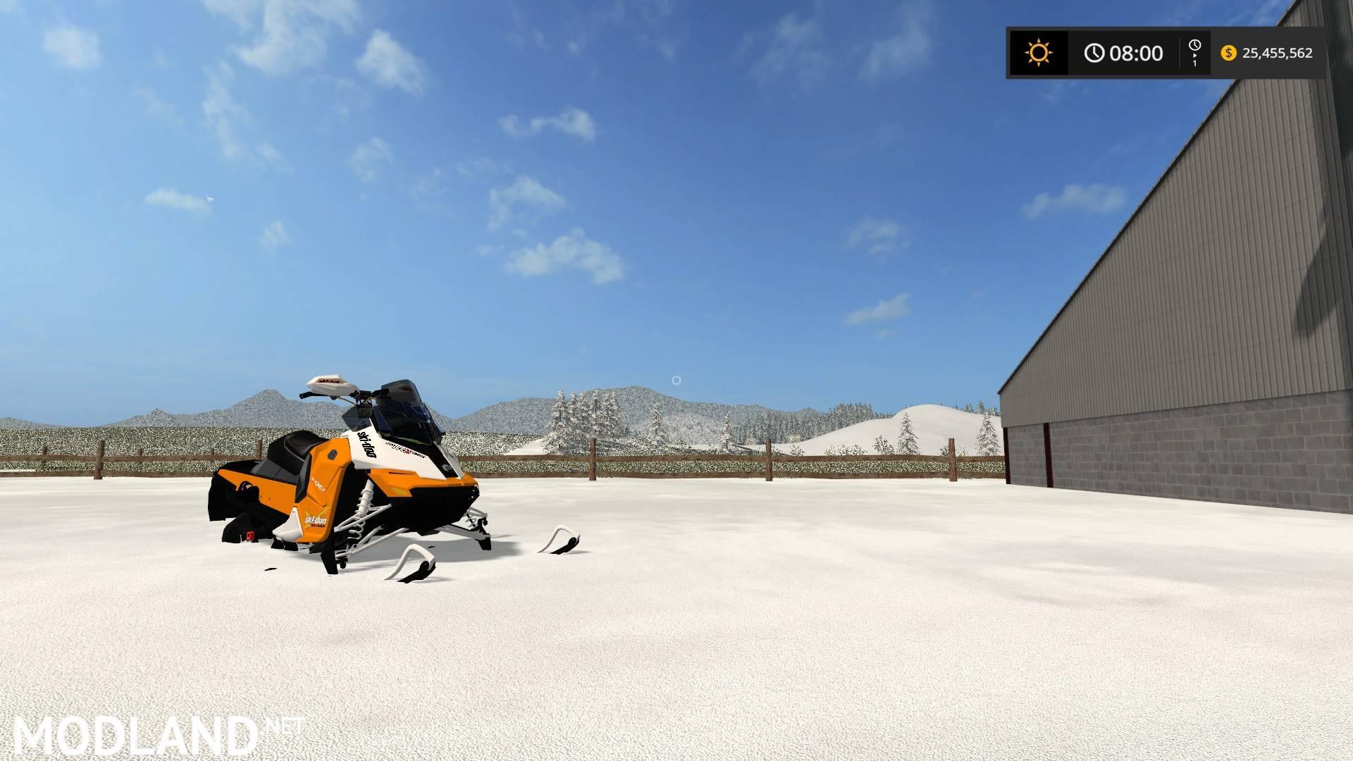 Skidoo MXZ 850 mod Farming Simulator 17