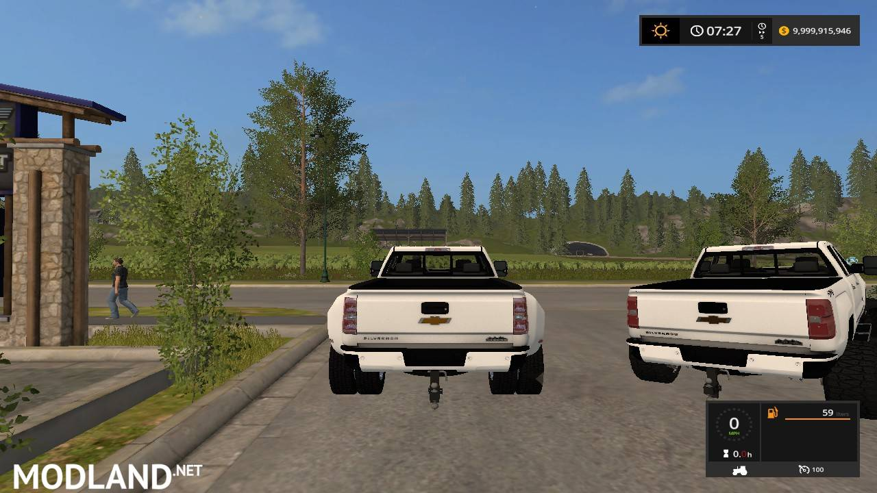 High Country Chevy >> 2018 chevy silverado 3500 mod Farming Simulator 17