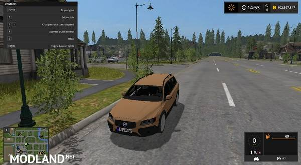 fs 17 volvo v 1 0 mod farming simulator 17. Black Bedroom Furniture Sets. Home Design Ideas