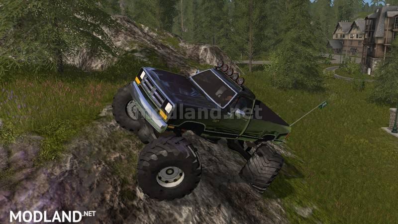 Offroad Dodge Cummins V 1 0 Mod Farming Simulator 17