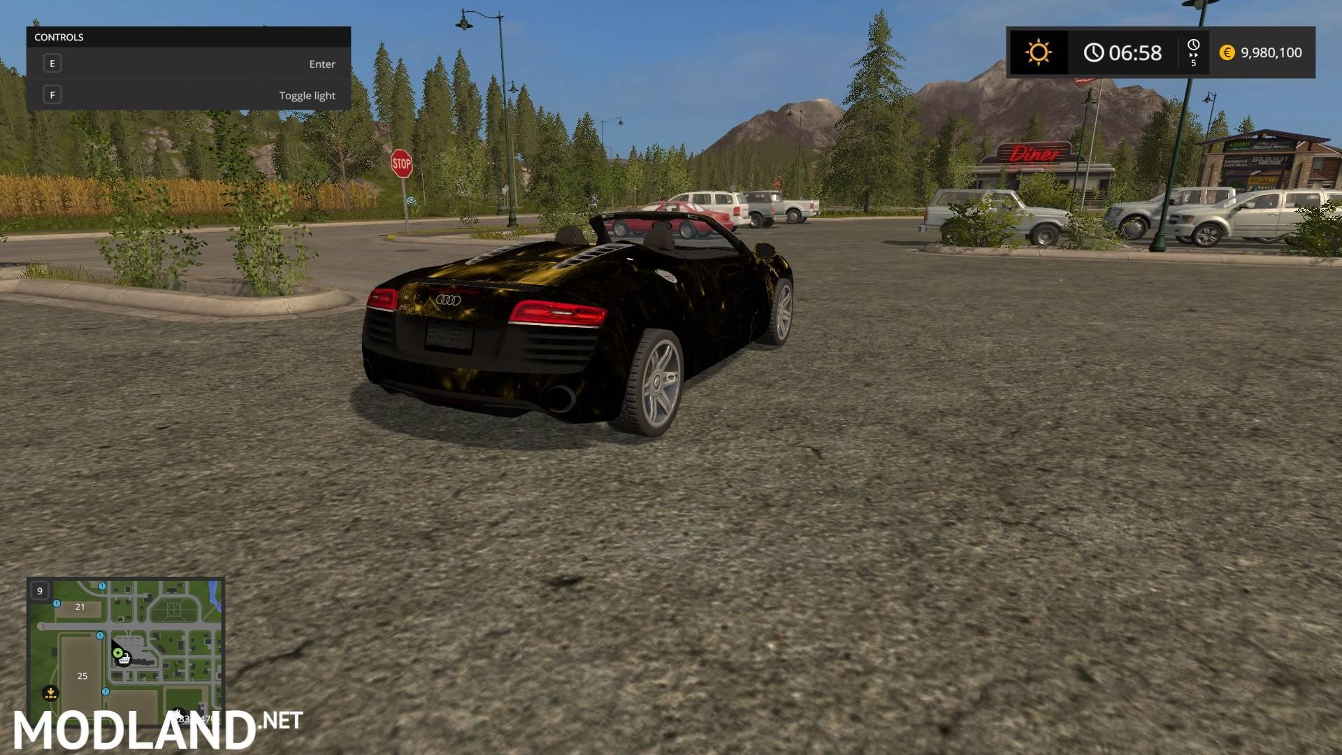 Farmingsimulator Game Modlandnet on Audi R8 V1 0