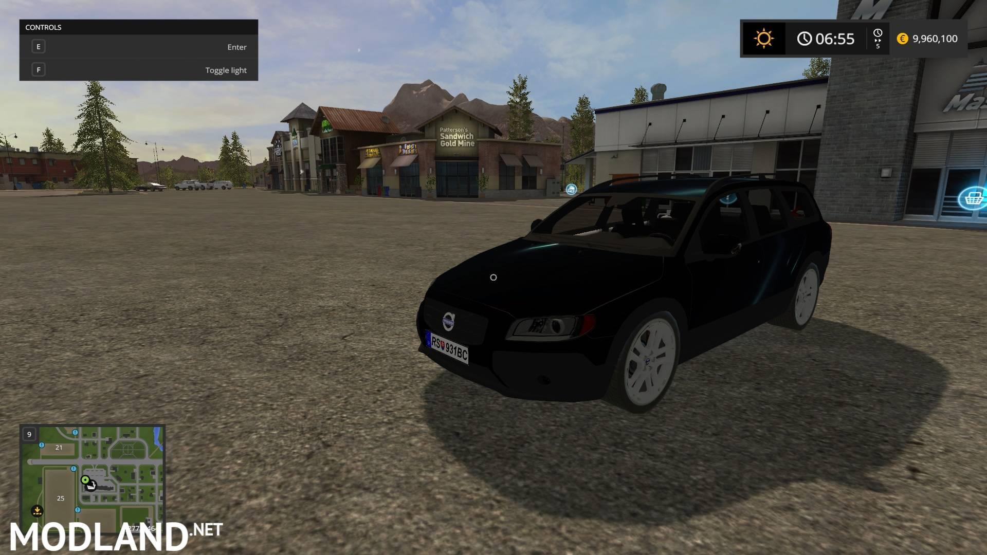 Volvo XC70 TDI mod Farming Simulator 17