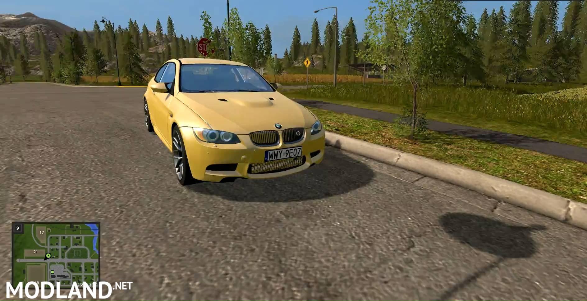 Farming Simulator  Mod Cars Bmw M