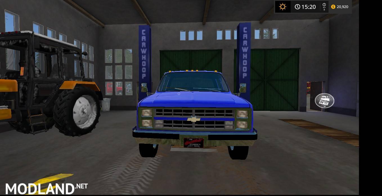 1984 Chevy 1 ton mod Farming Simulator 17