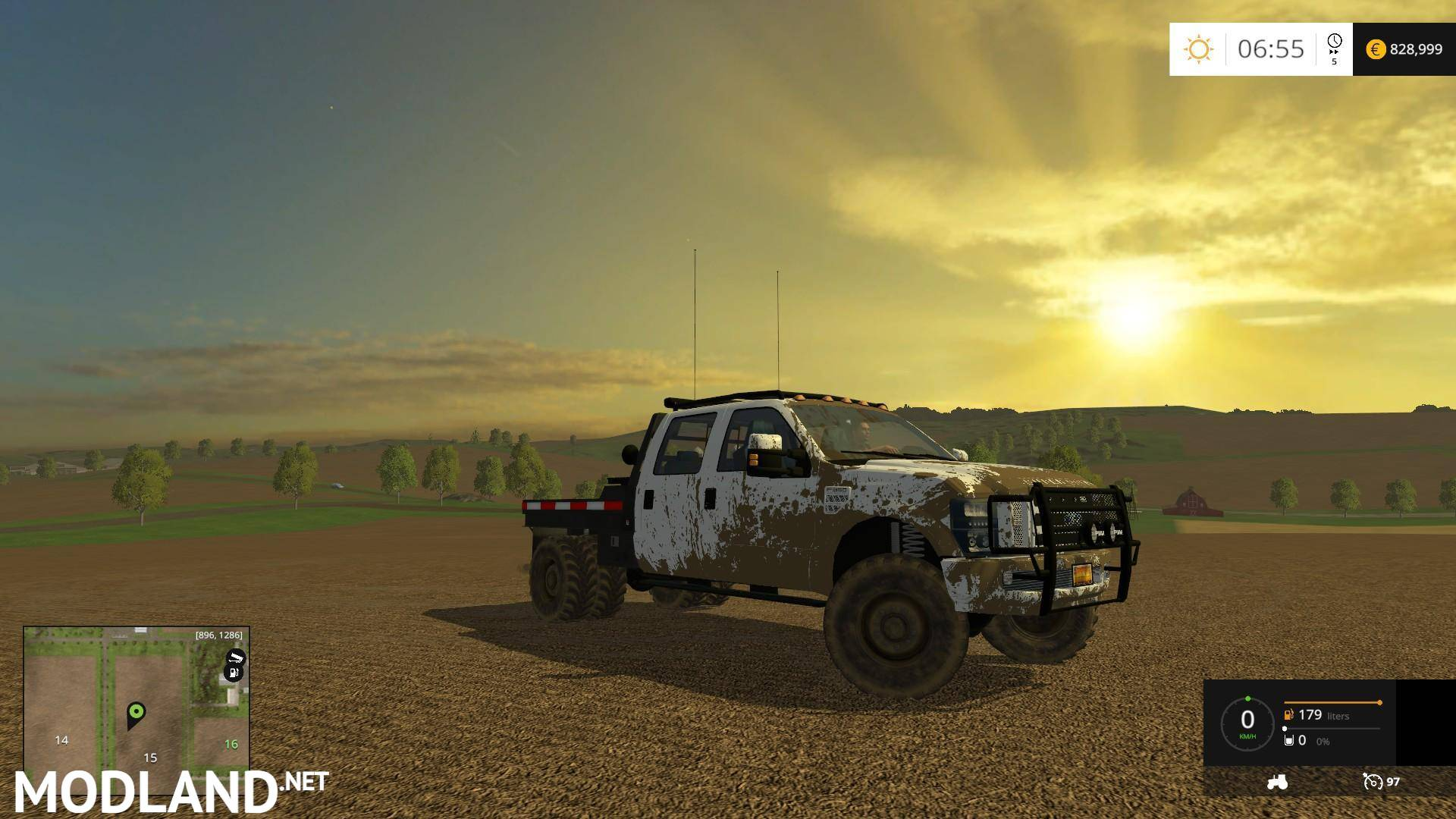 Ford F350 Mod Farming Simulator 17