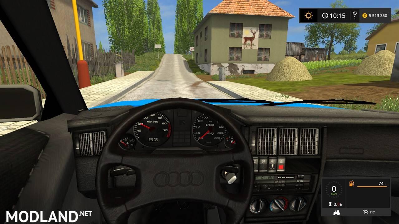 Audi 80 2 3e Mod Farming Simulator 17