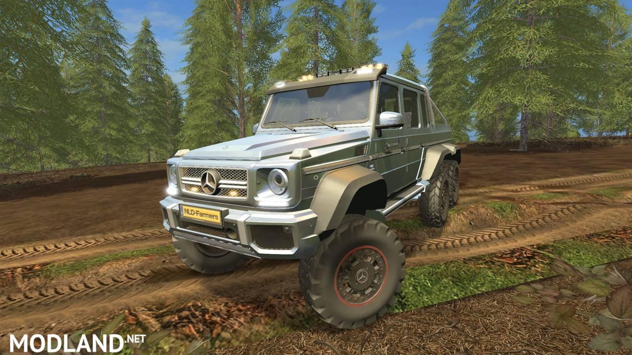 Mercedes Benz G65 Amg 6x6 V 1 1 Mod Farming Simulator 17