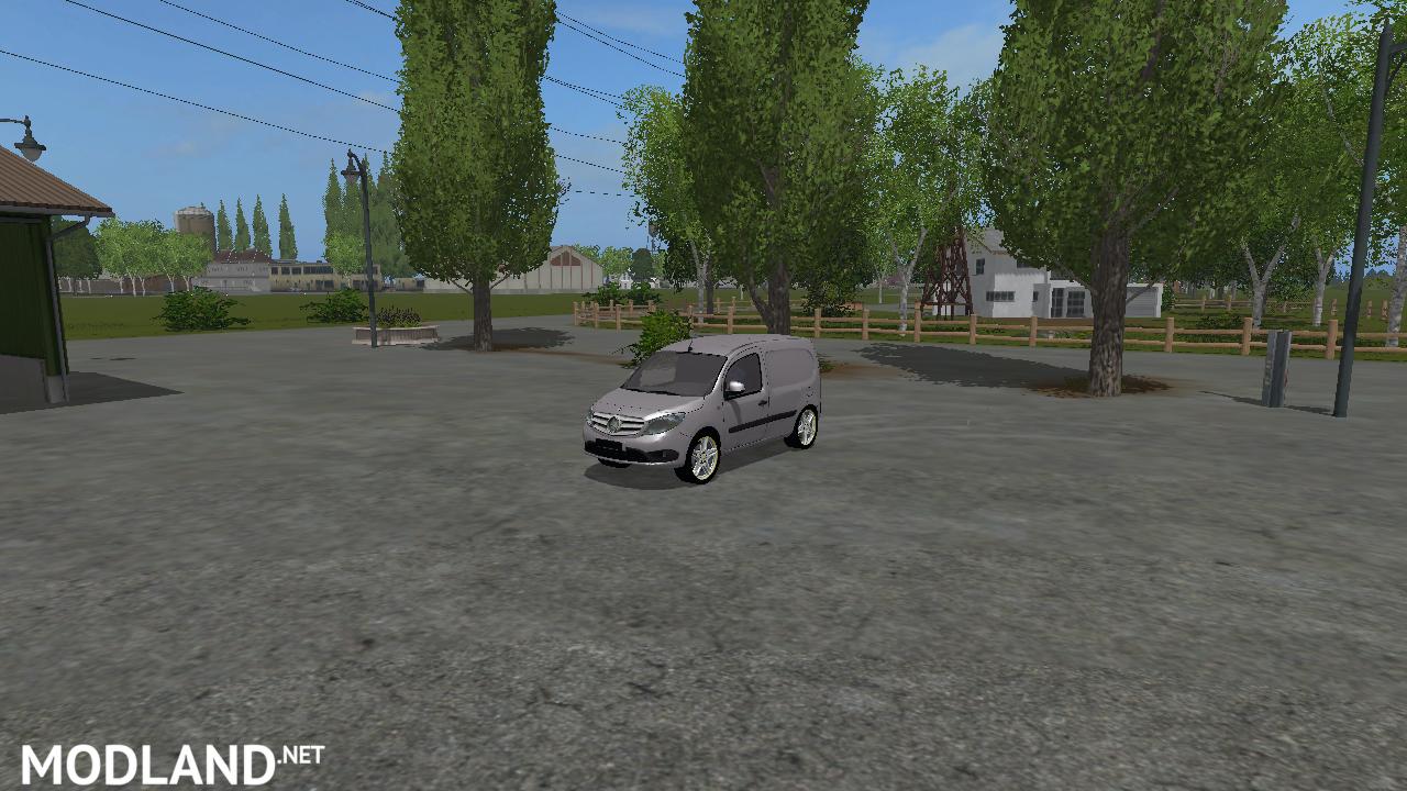 Fs 17 Mercedes Benz Citan V 1 0 1 Mod Farming Simulator 17