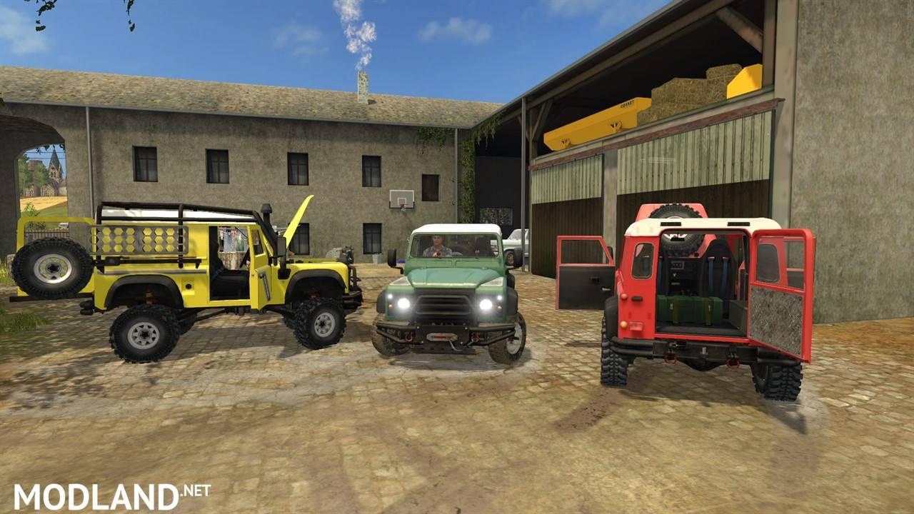 Land Rover Defender 90 Mod Farming Simulator 17