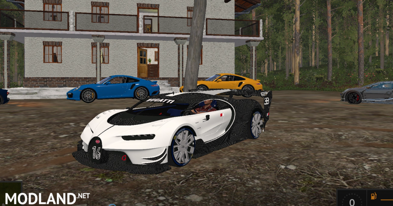 Bugatti Chiron Vision GT White