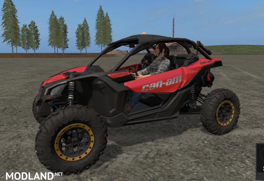 CAN-AM MAVERICK X3 turbo