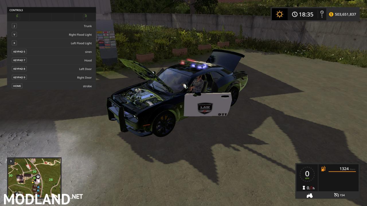 FS17 Dodge Demon Police