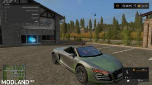 Audi R8 Spyder Green Decal, 1 photo