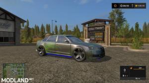 Audi A6 Neon tuning