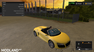 Audi R8 V10 Spyder v2