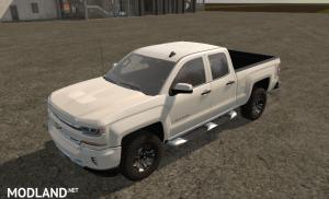 Chevrolet Silverado Z71 2016 mod Farming Simulator 17