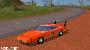 FS17 Dodge Charger Daytona Dukes of hazard version, 5 photo