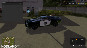 FS17 Dodge Demon Police, 6 photo