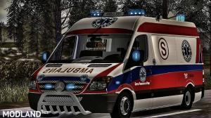 Poland Ambulance MB Sprinter v 1.0