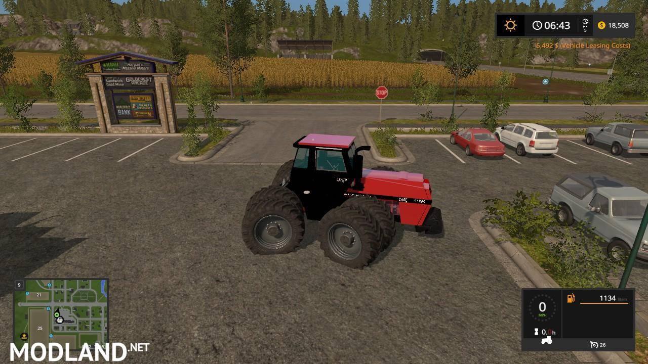 International Tractor Mods : Case ih v mod farming simulator