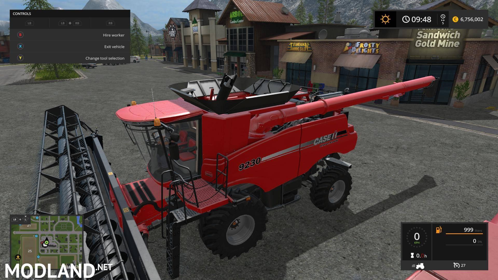 case ih combine pack by stevie v1 0 mod farming simulator 17