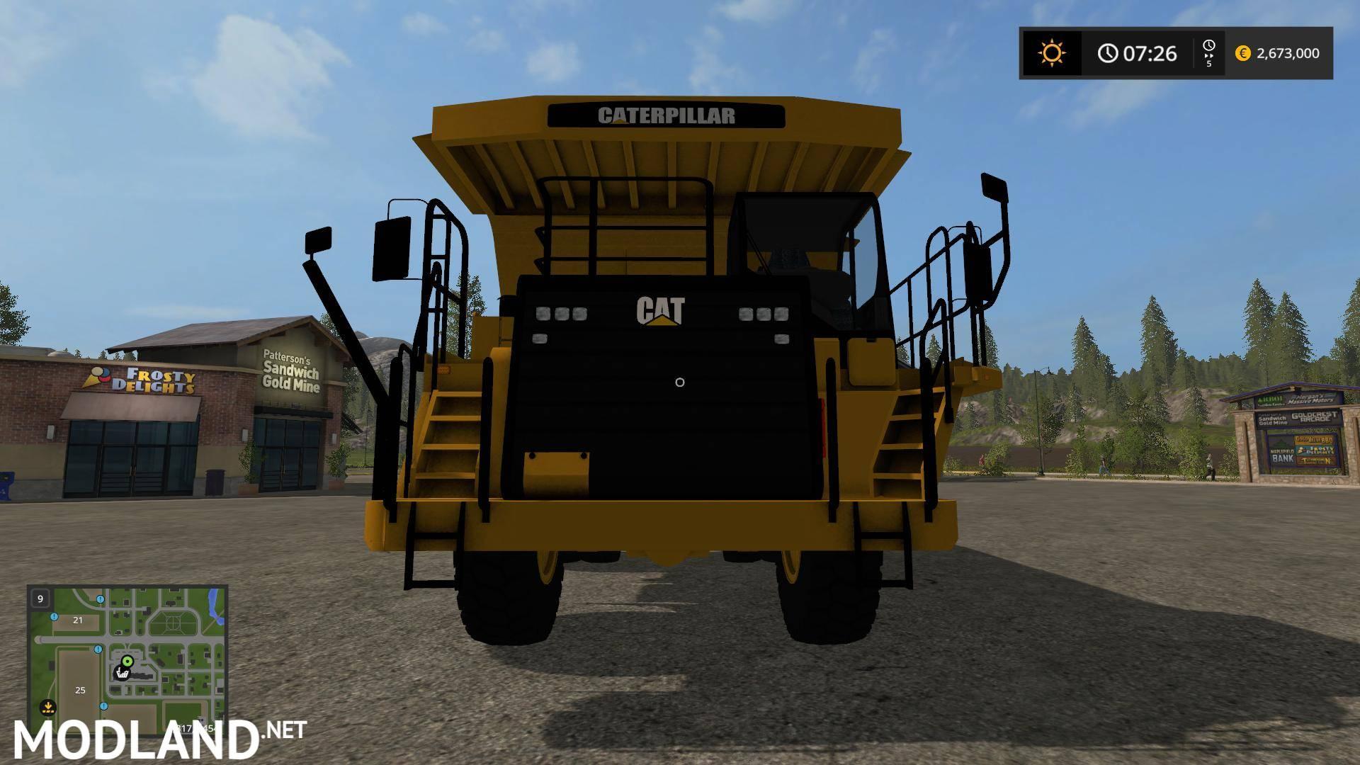 CAT 773G V 1.2 Mod Farming Simulator 17