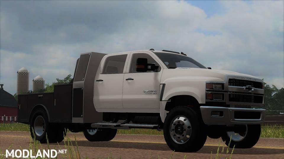 Chevy 4500 v 1.0 mod Farming Simulator 17
