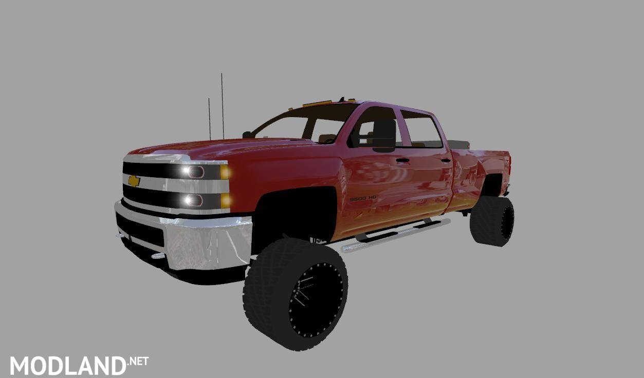 1994 Chevy Diesel >> Chevy Silverado 3500HD Duramax v 1.0 mod Farming Simulator 17