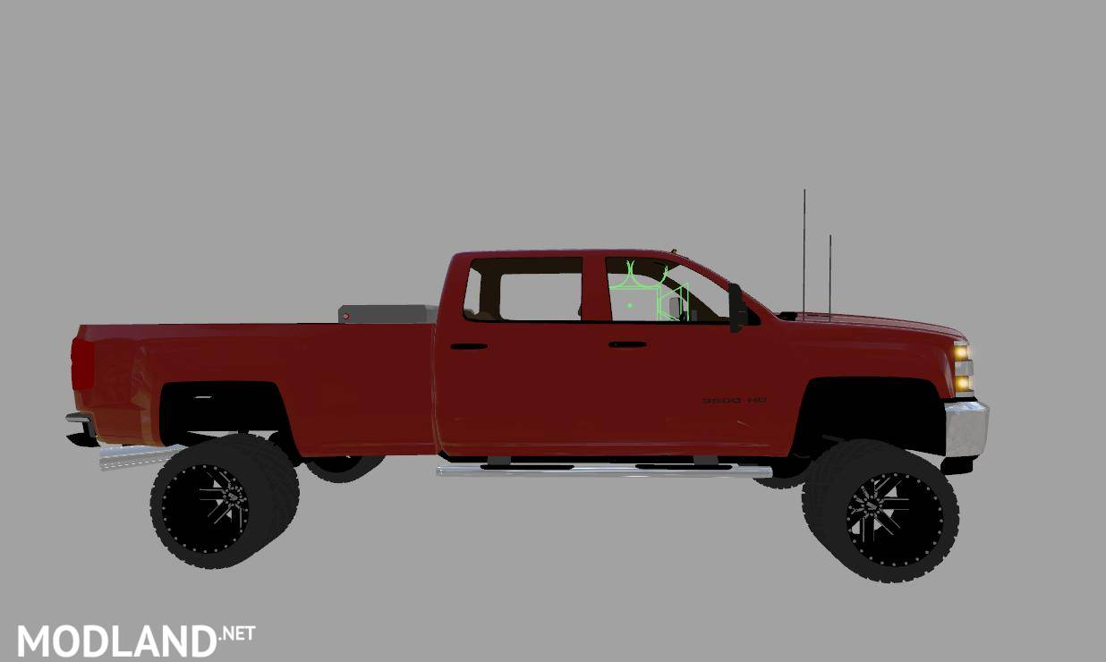 chevy silverado 3500hd duramax v 1 0 mod farming simulator 17. Black Bedroom Furniture Sets. Home Design Ideas