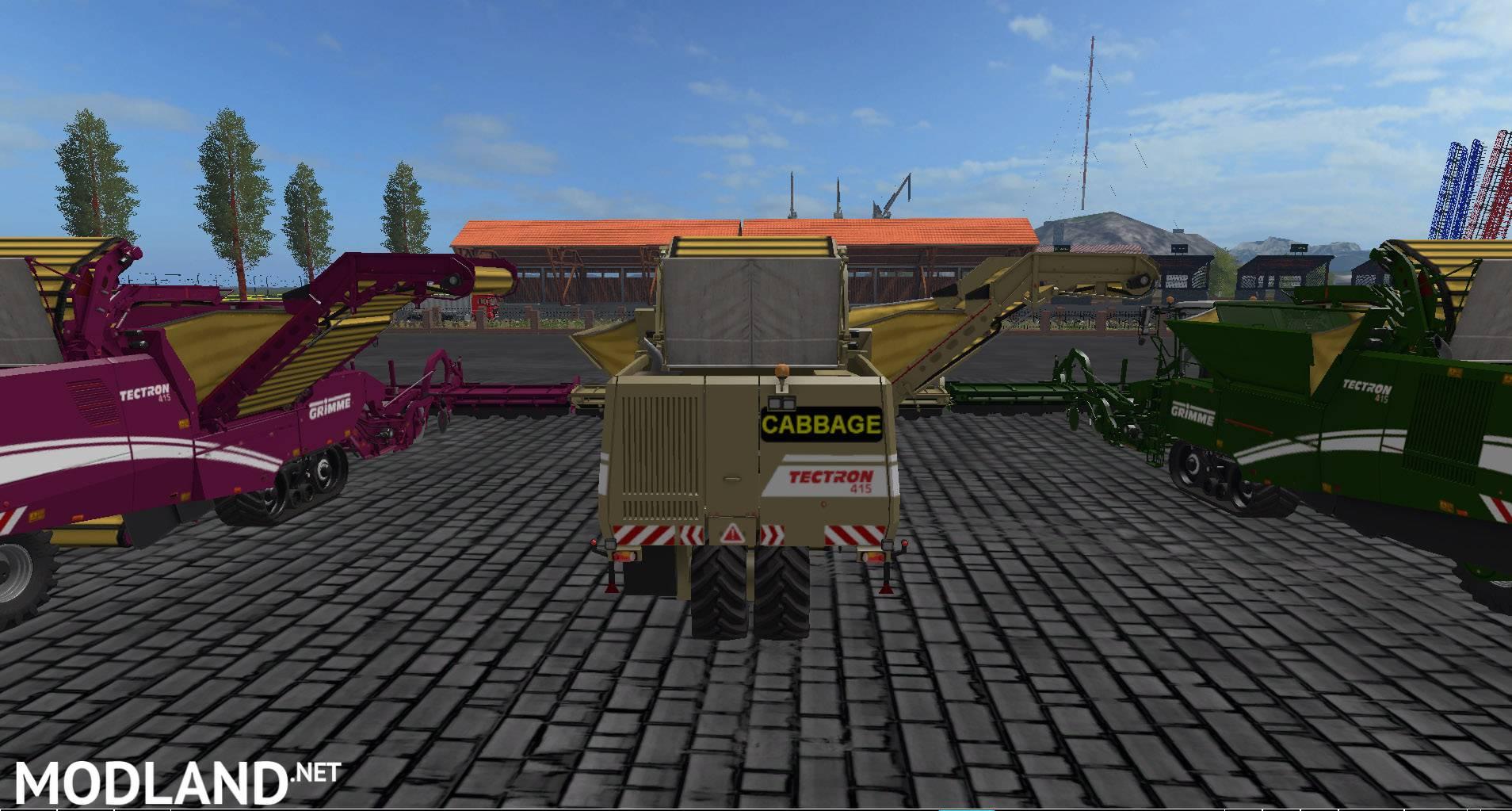 Grimme harvesters from Vaszics 1 0 mod Farming Simulator 17