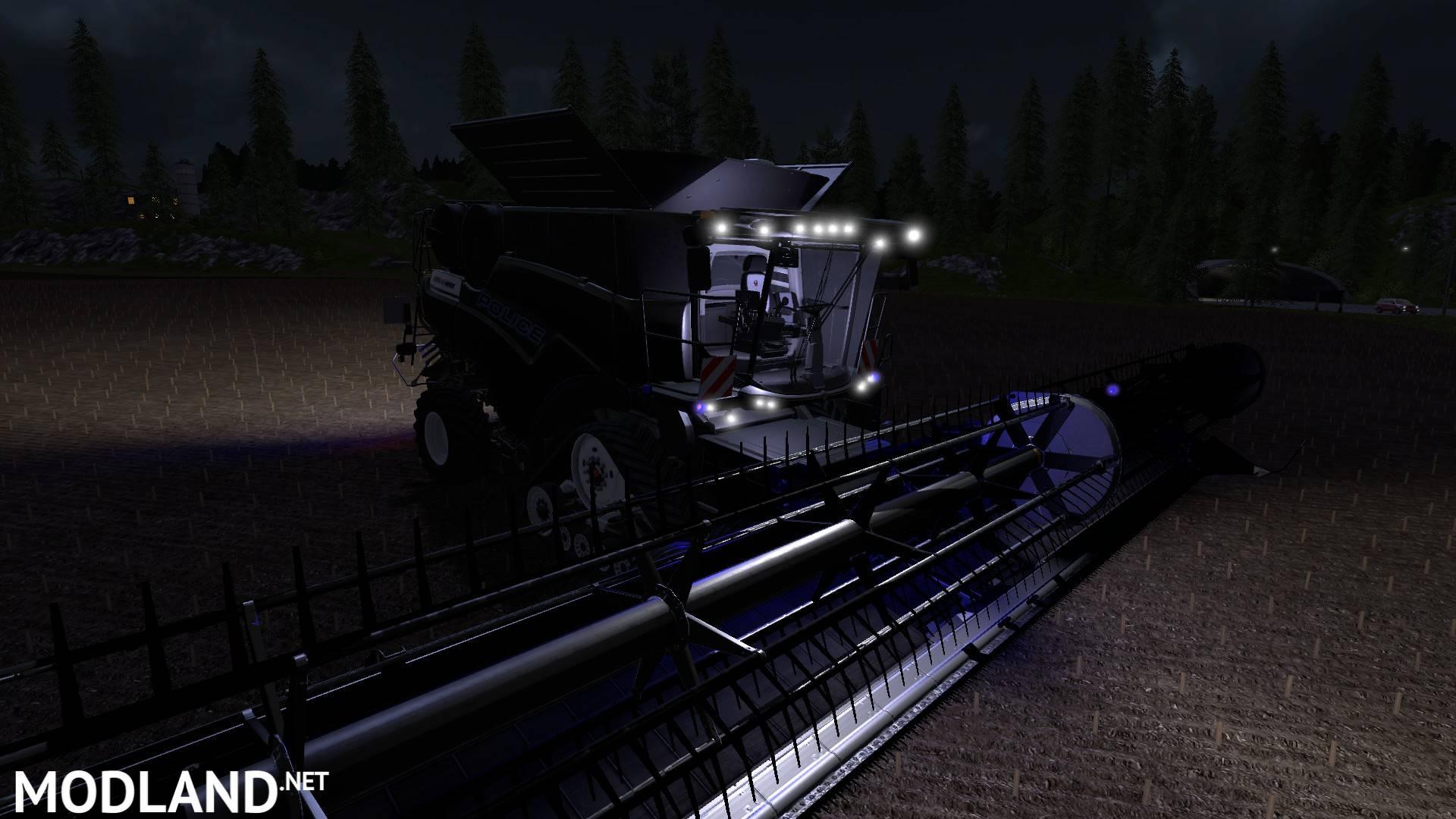 Dodge Demon Simulator >> Police Harvester mod Farming Simulator 17