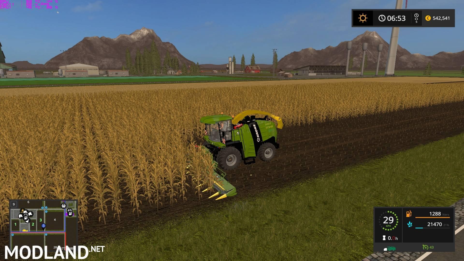 Dodge Demon Simulator >> Krone Big X Pack OS mod Farming Simulator 17