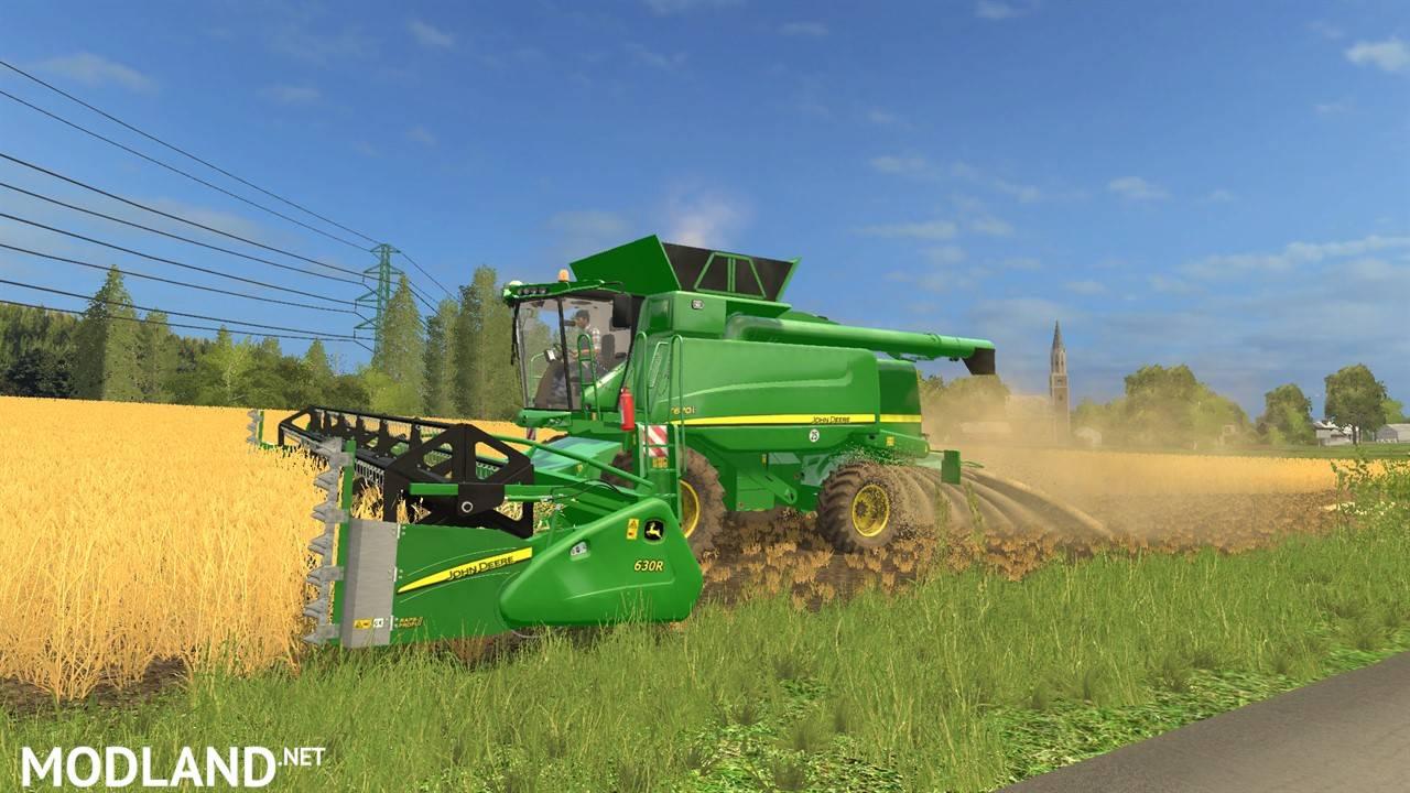 John Deere T670i Pack mod Farming Simulator 17