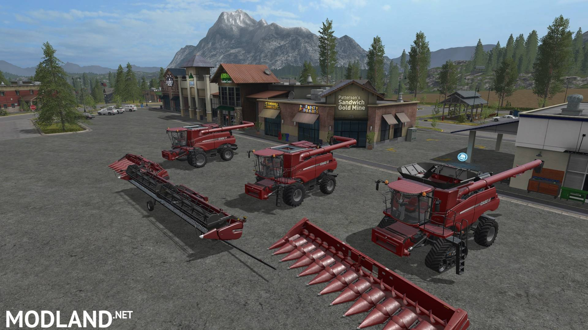 Case IH Pack v 6.0 mod Farming Simulator 17