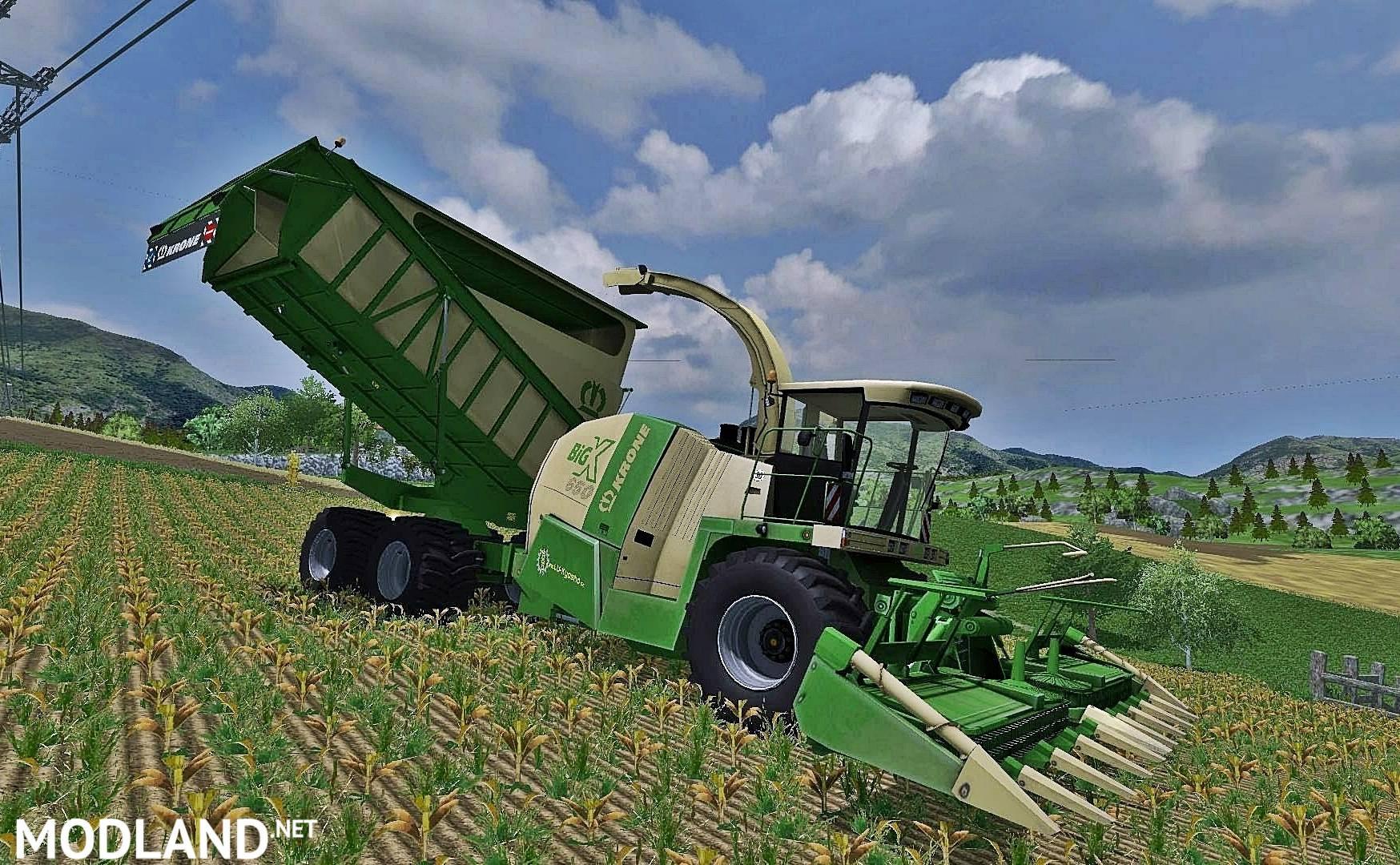 Krone Big X 650 Cargo Pack Mod Farming Simulator 17