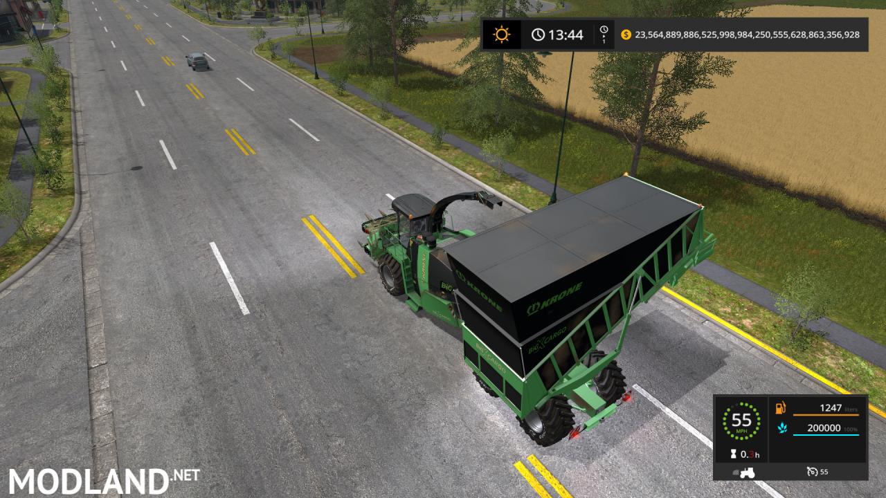 Krone Big X Cargo V3 E
