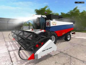 Rostselmash Acros 530 in the color of the Russian Flag v 1.0 - External Download image