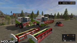 CLAAS LEXION 430/460 PACK v 1.0, 1 photo